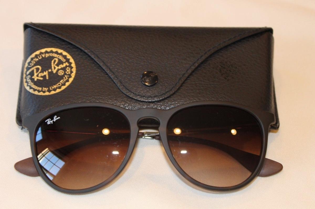 óculos d sol ray ban erika rb4171 gatinha marrom feminino. Carregando zoom. 7b4dd9c604