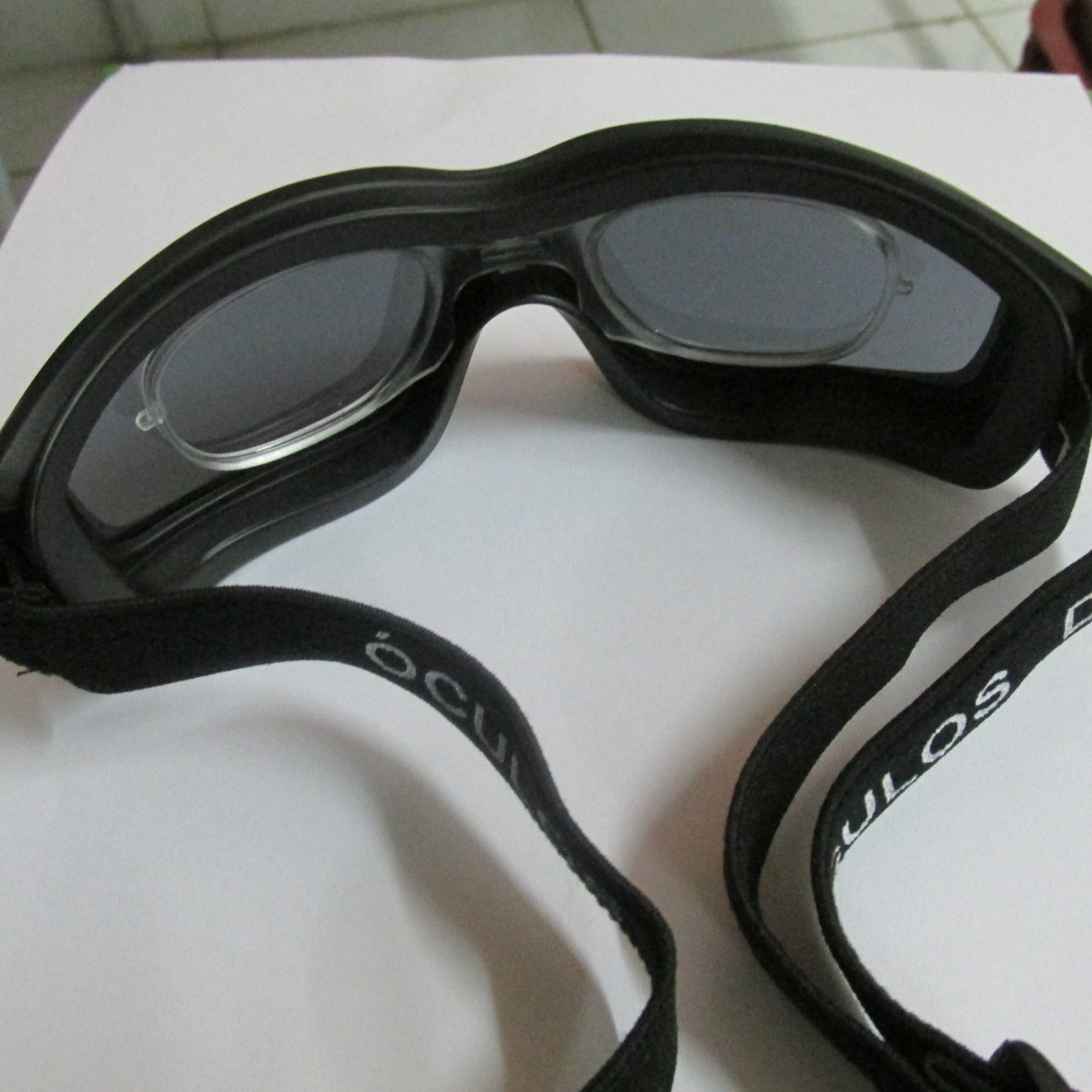 7a0be38f5 óculos d-tech escuro para futebol + adaptador lentes de grau. Carregando  zoom.