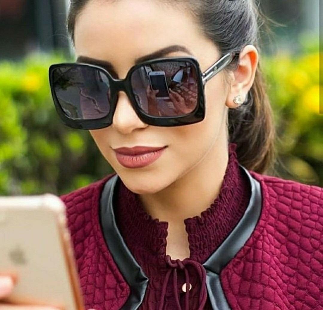 baea2dfaa óculos da moda retro feminino coleção 2019 modinha quadrado. Carregando zoom .