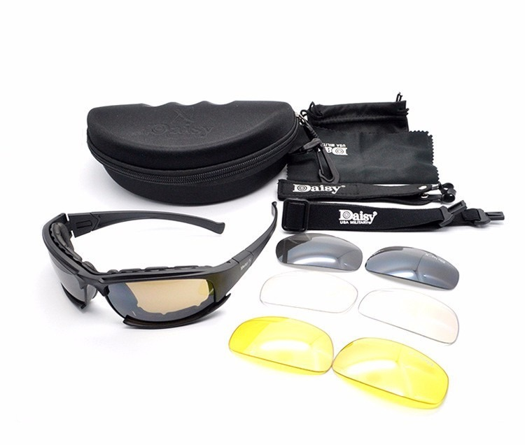 87f2753fb39fd Óculos Daisy X7 Tático Airsoft Militar Balistico Uv400 1 - R  139