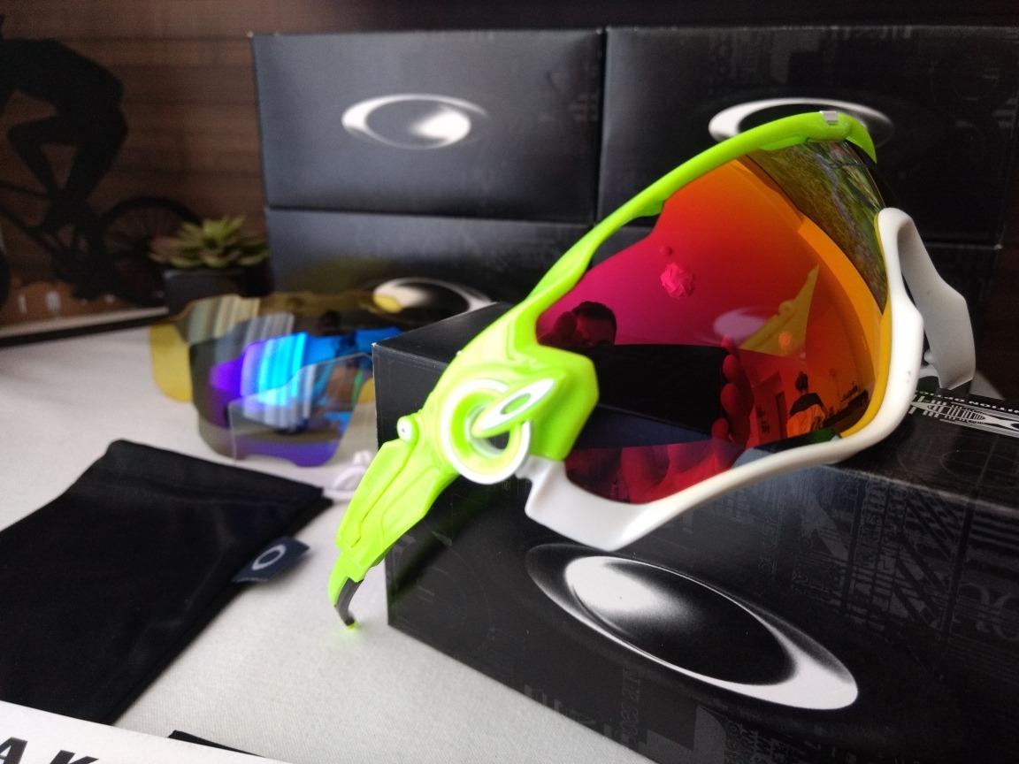 Óculos De Ciclismo Oakley Jawbreaker - R  189,00 em Mercado Livre 293d360fda