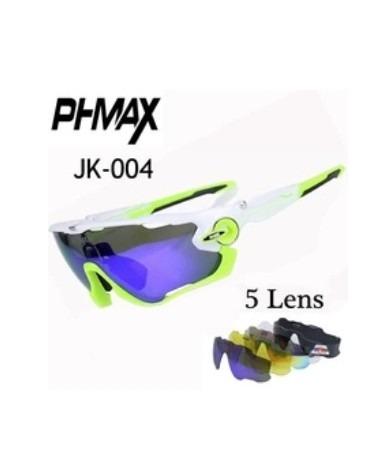 Oculos De Ciclismo Phmax Modelo Oakley Com 5 Lentes - R  124,00 ... aabf122d57
