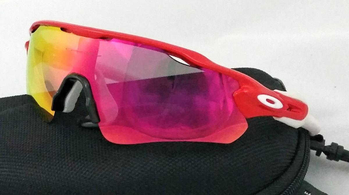 af6acf3bb3dc0 Óculos De Ciclismo Radar Ev - 5 Lentes - R  169,00 em Mercado Livre