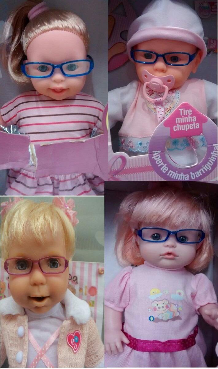 50a960b8a1683 Óculos De Grau 1.para Bonecas -baby Alive Miracle Baby - R  36,00 em ...