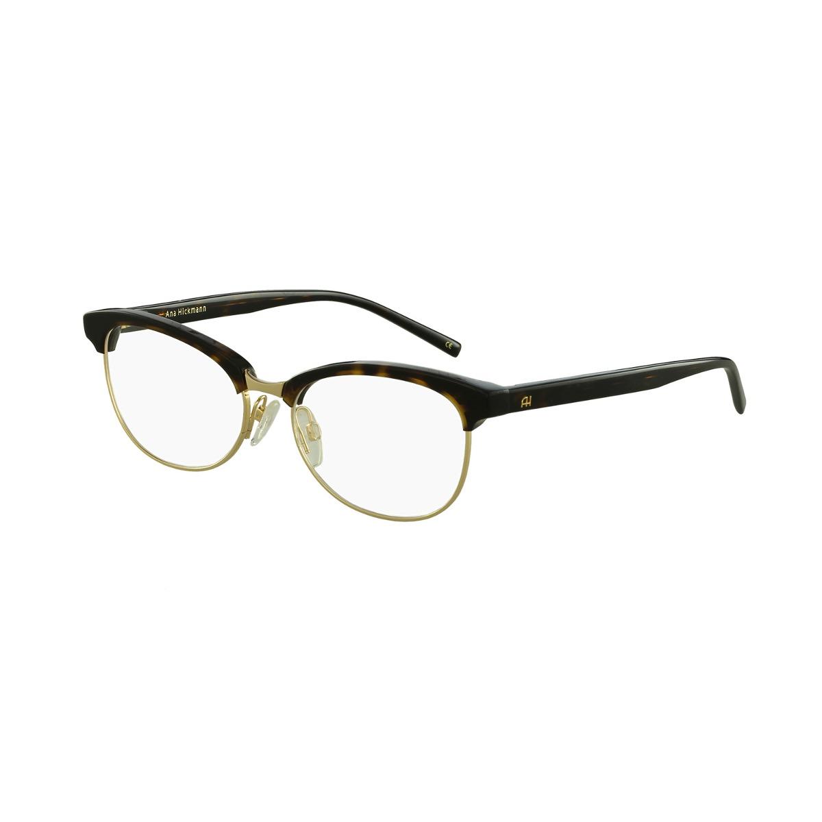 Óculos De Grau Ana Hickmann Casual Marrom - R  497,00 em Mercado Livre 60719f56fa