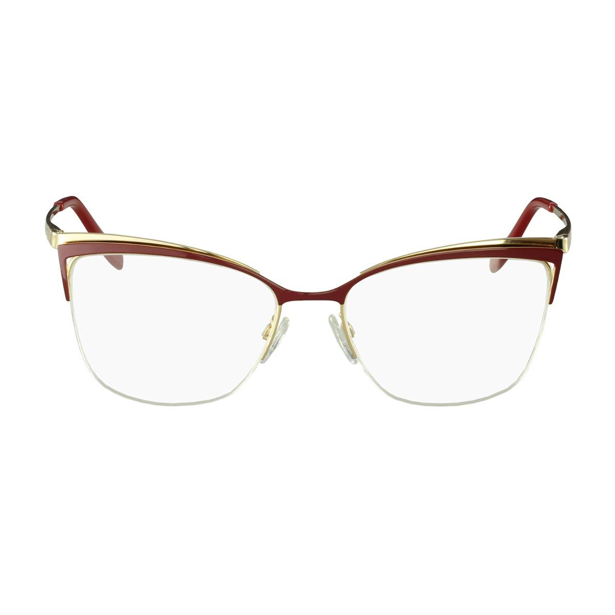 Óculos De Grau Ana Hickmann Gatinho Vermelho - R  508,00 em Mercado Livre 53fdd16a48