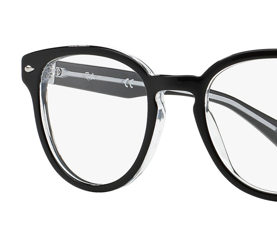 d1e7c12f205e4 Oculos De Grau Armação 5311 Da Ray Ban Redondo Preto - R  113,00 em ...