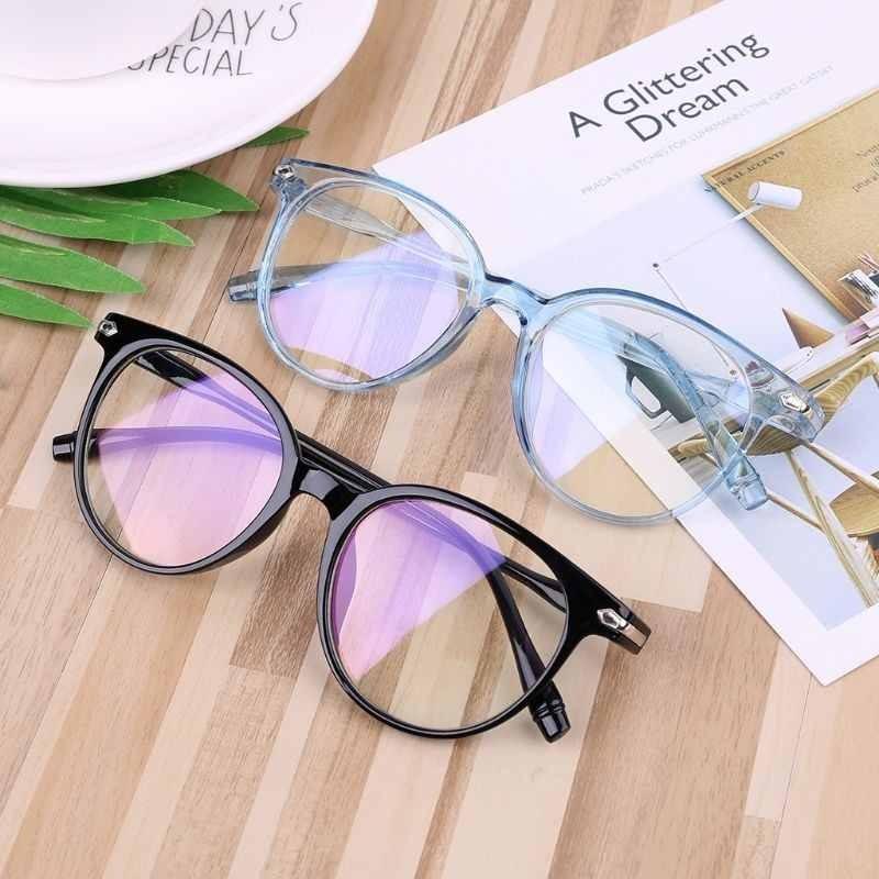 9a256a4a6 óculos de grau armação feminina moderna transparente. Carregando zoom.