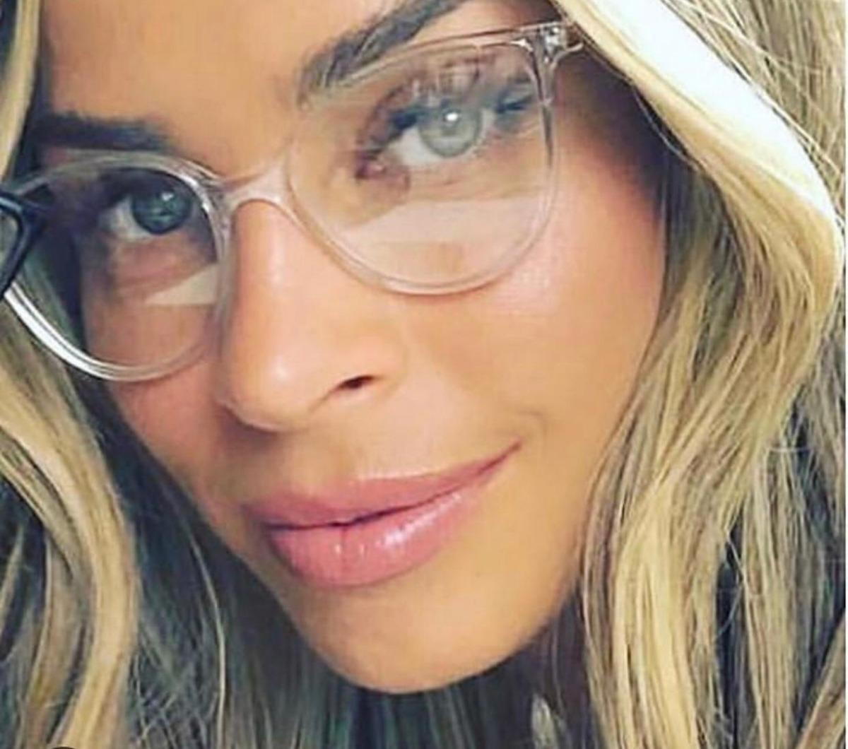 010aeb10c19b5 Óculos De Grau Armação Feminina Transparente Moderno - R  59
