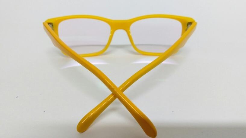 27711acd6fb5e óculos de grau armação infantil amarelo resistente tr071-c5. Carregando  zoom.