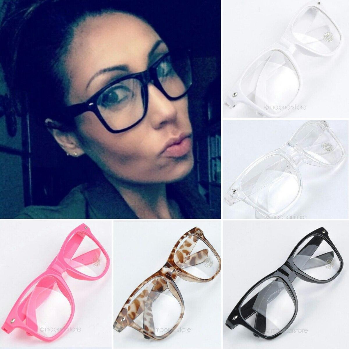 808ad49df9c6b óculos de grau - armação . retangular grande nerd retrô geek. Carregando  zoom.
