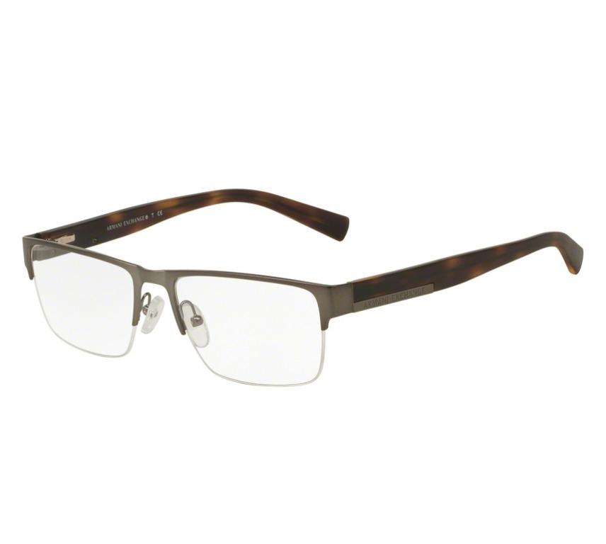 fb9eac465 óculos de grau armani original masculino ax1018l 6017 tam.54. Carregando  zoom.