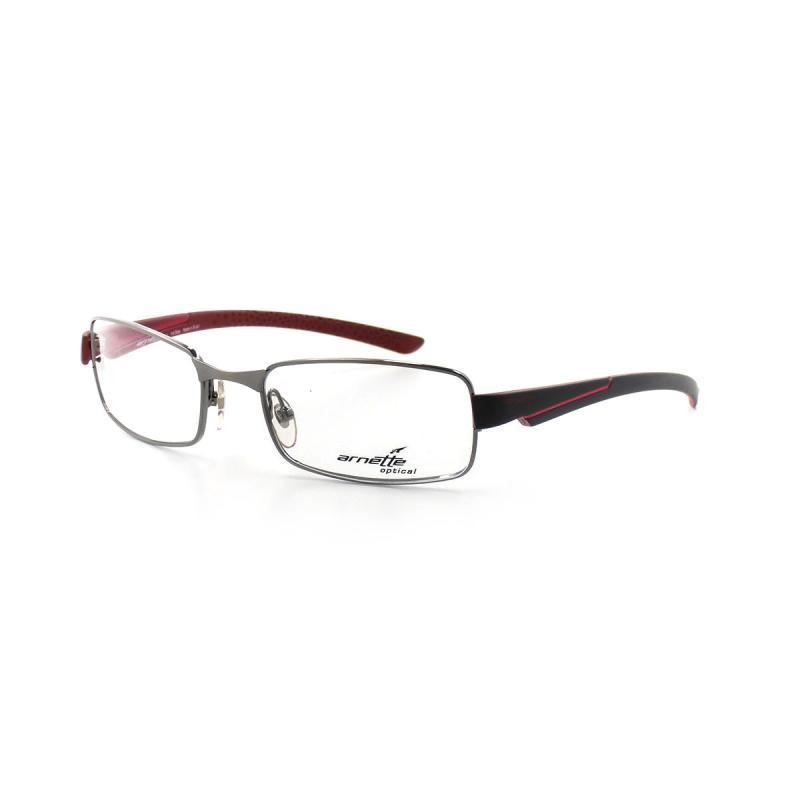 ed37d3720 óculos de grau arnette 6060l t 53 c a831 masculino grafite. Carregando zoom.