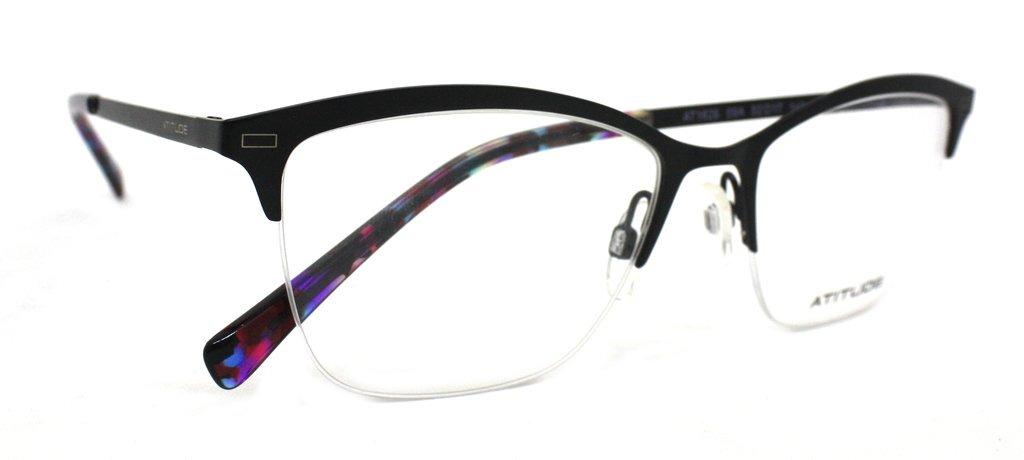 21fe246d0 óculos de grau atitude at1626 metal (preto 09a, 52-17-140). Carregando zoom.