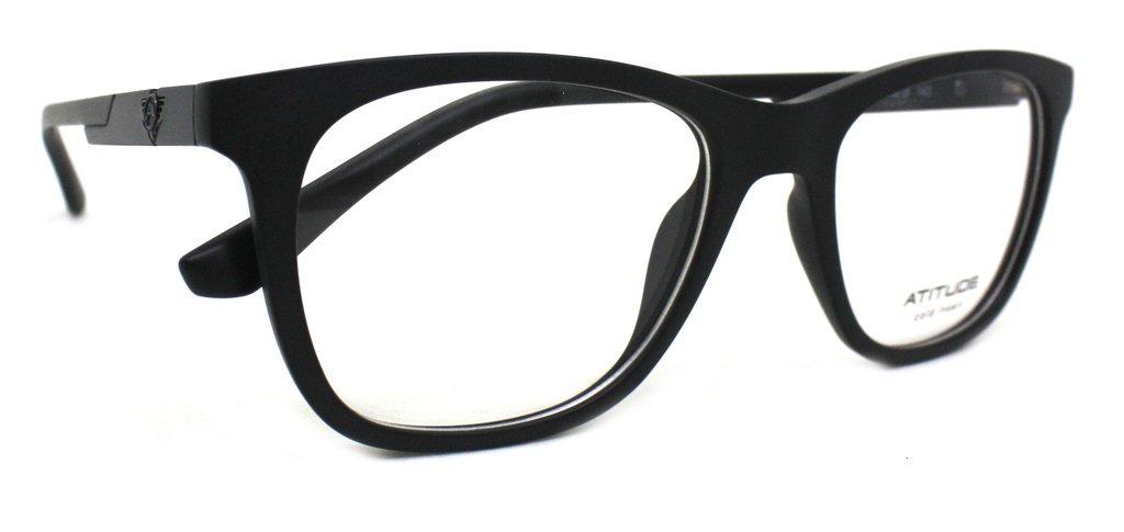 óculos de grau atitude at4110 acetato (preto a01, 53-19-142). Carregando  zoom. babc60945f