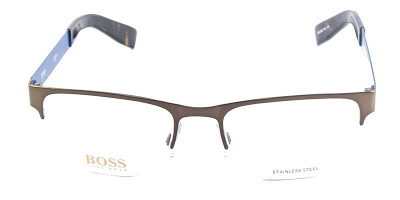 e3ed712881d8a Óculos De Grau Boss Orange Bo0205 Cobre Azul - R  499,90 em Mercado ...
