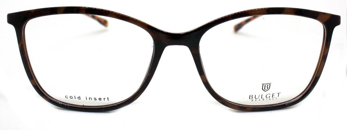 c5020e08b8d12 óculos de grau bulget bg4044 (54-16-140). Carregando zoom.