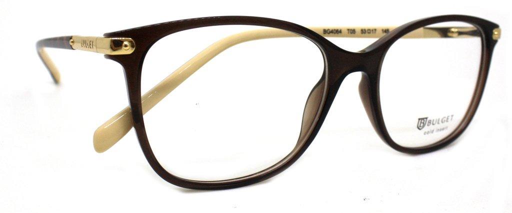 Óculos De Grau Bulget Bg4064 (marrom, 53-17-145) - R  199,90 em ... 122218e0c5