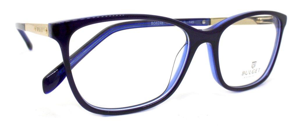 205bfbd12da6c Óculos De Grau Bulget Bg6248 (azul