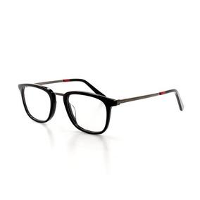 c4956fe58 Óculos De Grau Cannes 3393 T 50 C 2 Masculino Casual Preto