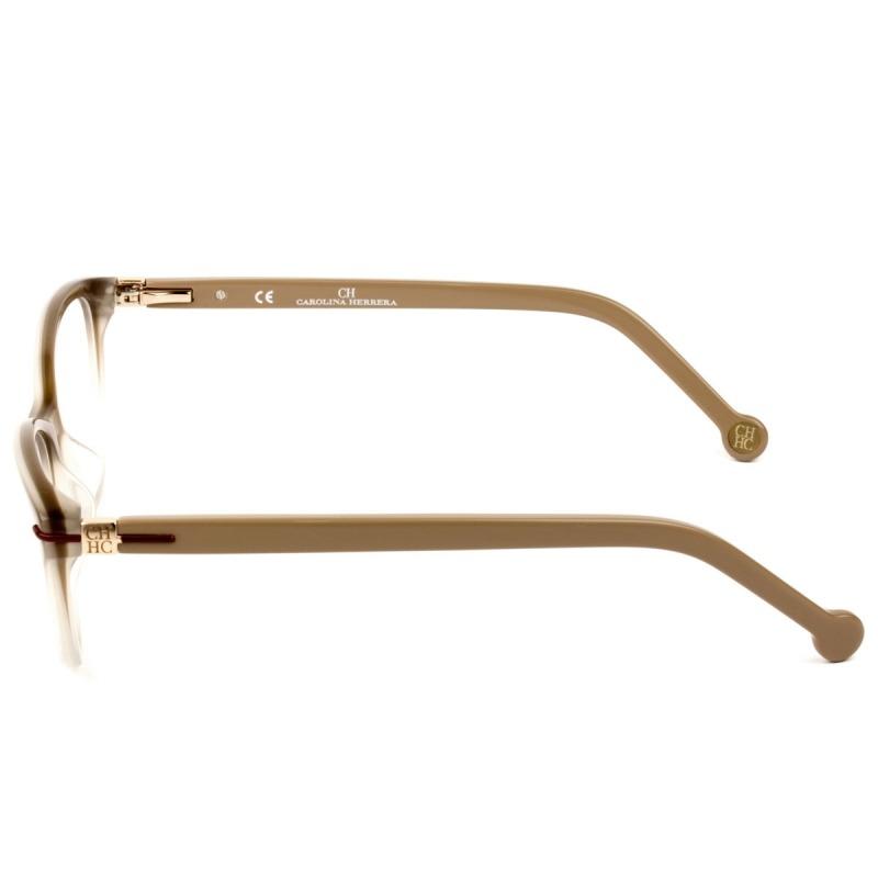 707fa9a70e659 óculos de grau carolina herrera vhe660 0wtq 52 - nota fiscal. Carregando  zoom.