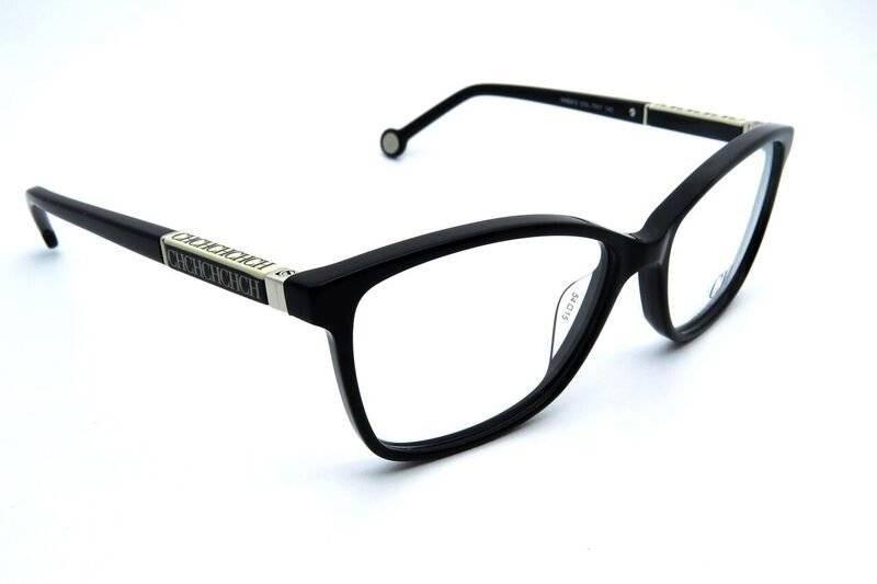 Óculos De Grau Carolina Herrera Vhe672 Preto - R  916,00 em Mercado ... b64e76ac06