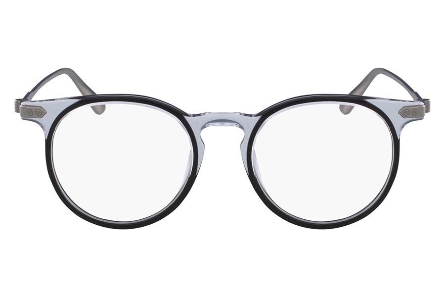 e95ffdf8d865d Óculos De Grau Ck Ck18705 095 49 Transparente preto - R  982,99 em ...