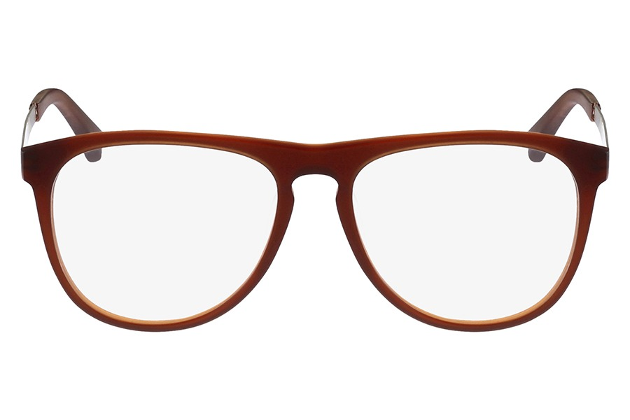 36d86c7c1e7e5 Óculos De Grau Ck Ck5888 201 54 Marrom - R  229,79 em Mercado Livre