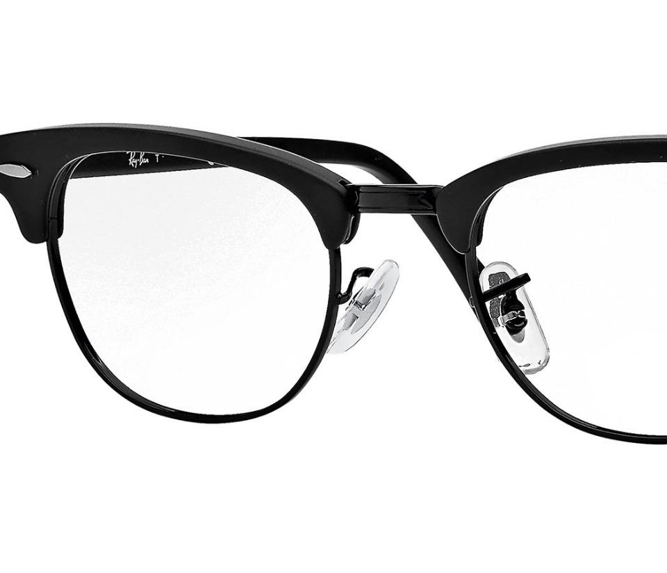 aa330f727a20a Óculos De Grau Clubmaster Armação Preto - R  220,00 em Mercado Livre