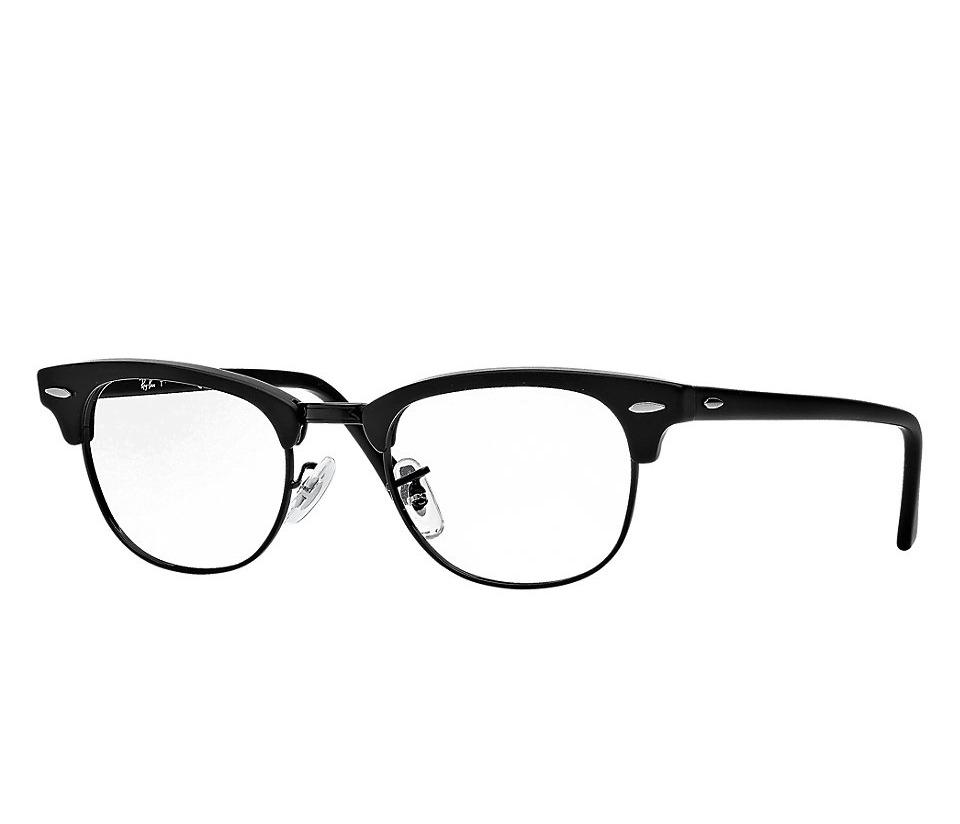 21a3f81436022 Óculos De Grau Da Ray Ban Clubmaster Armação Preto - R  220,00 em ...
