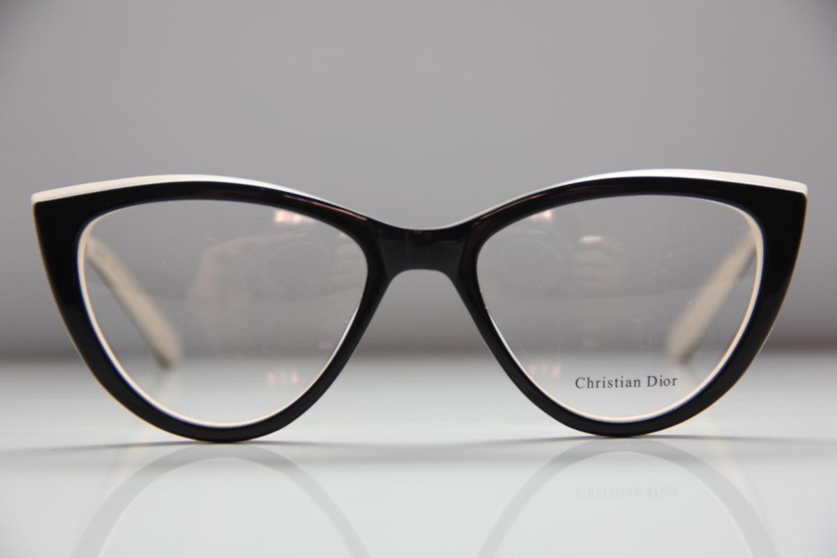 3fc55afd5ba22 oculos de grau dior modelo gatinho armação frete grátis. Carregando zoom.