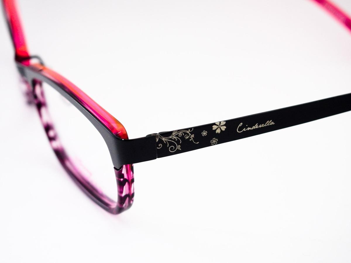 e9bf94aad Óculos De Grau Disney Princesas Infantil Pr23489 - R$ 299,00 em ...