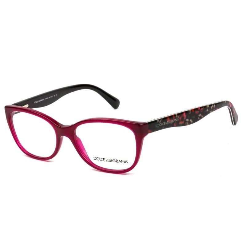 Óculos De Grau Dolce   Gabbana Dg 3136 2782 53 - Nota Fiscal - R ... 3e82664a93