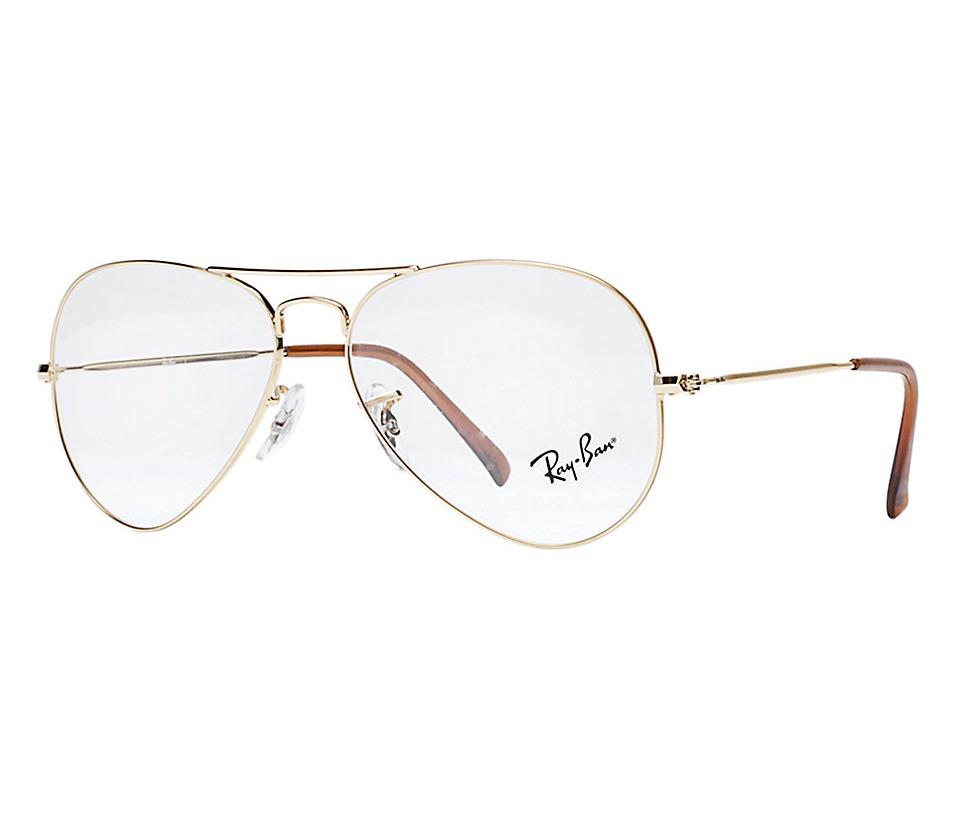 f9bfc1441 Óculos De Grau Dourado Modelo Aviador Da Ray Ban - R$ 122,00 em ...