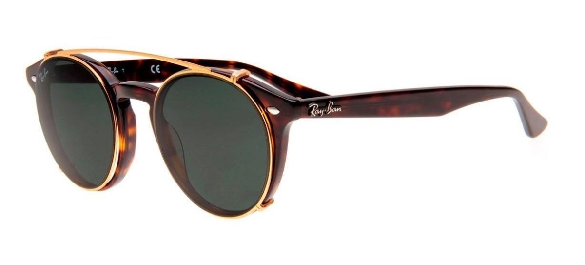óculos de grau e acessório ray ban clip on rb 2180 2500. Carregando zoom. 85f7eb486a