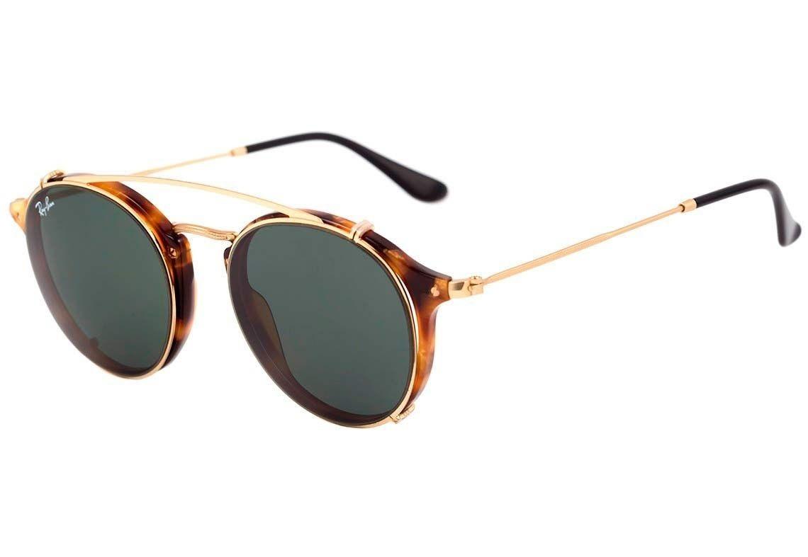 Óculos De Grau E Acessório Ray Ban Clip On Rb 2447 2500 71 - R  599 ... 04c5713e1b