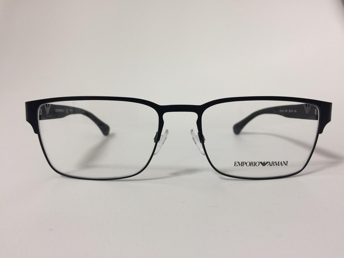 b1f1370fcb4a7 Óculos De Grau Emporio Armani Ea 1027 3001 55 18 140 - R  390,