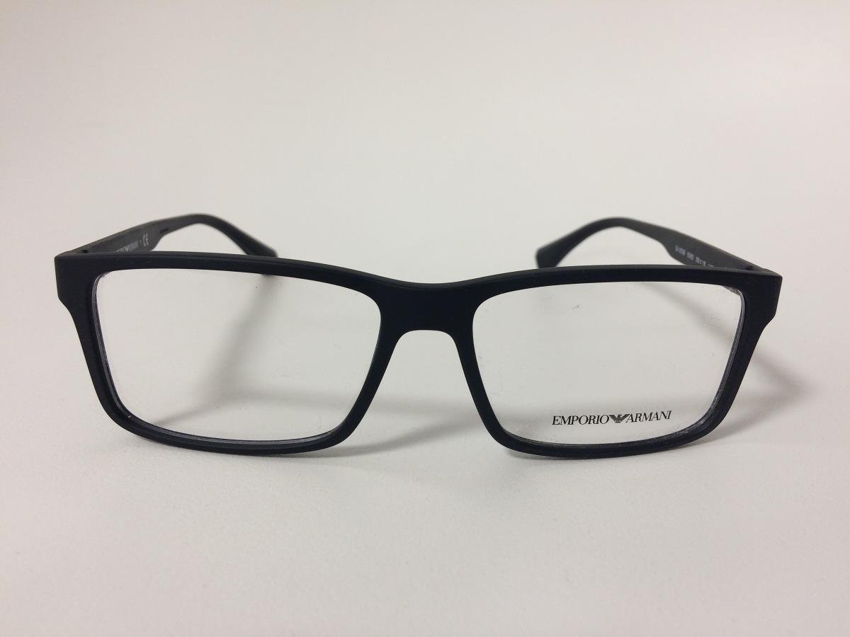 04b28d7c8ec4a 95+ Óculos De Grau Emporio Armani Ea3125 5063 Preto Oculosworld ...