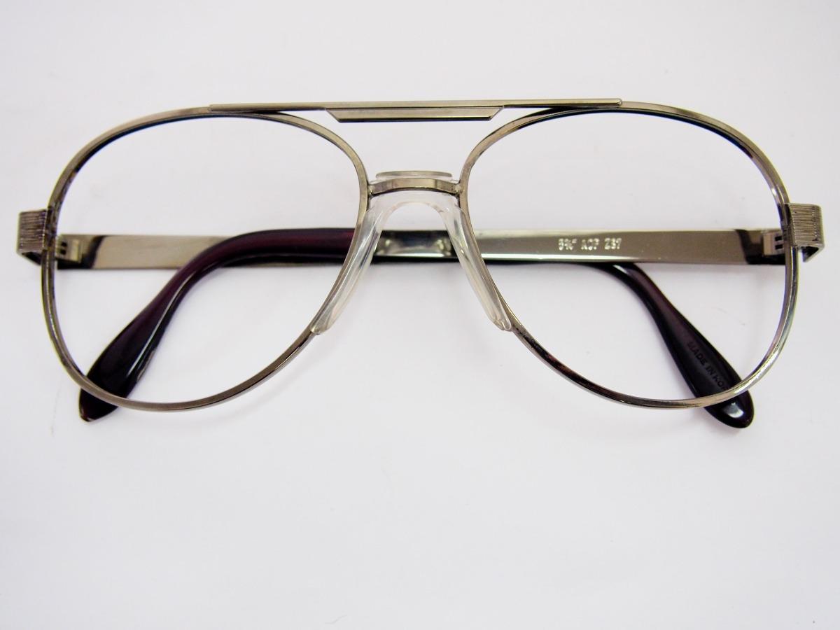 óculos de grau estilo aviador grafite com ponte anatômica. Carregando zoom. 2df0a18069
