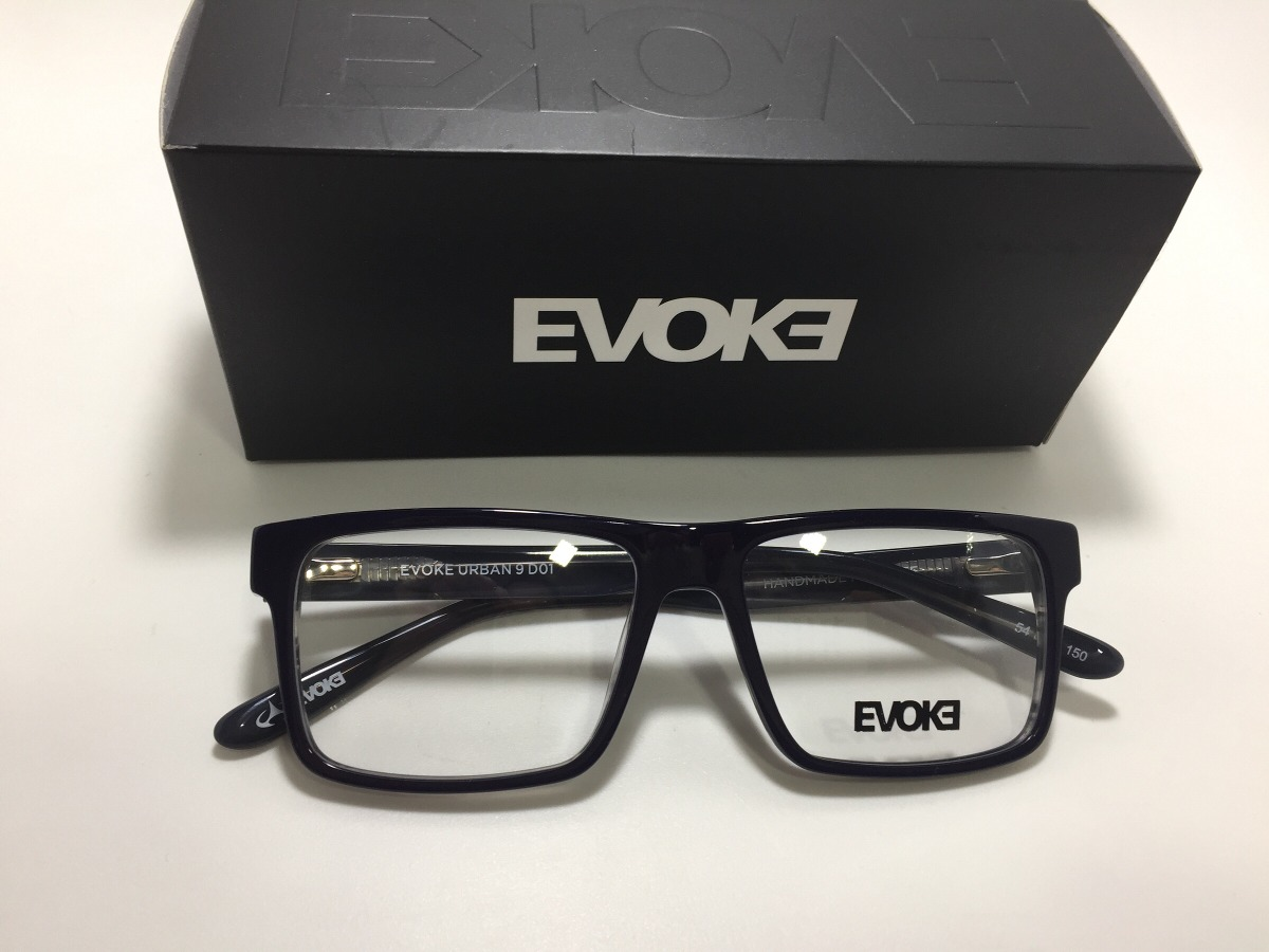 d92e5950e7f5b Oculos De Grau Evoke Urban 9 D01 54 16 150 - R  438,00 em Mercado Livre