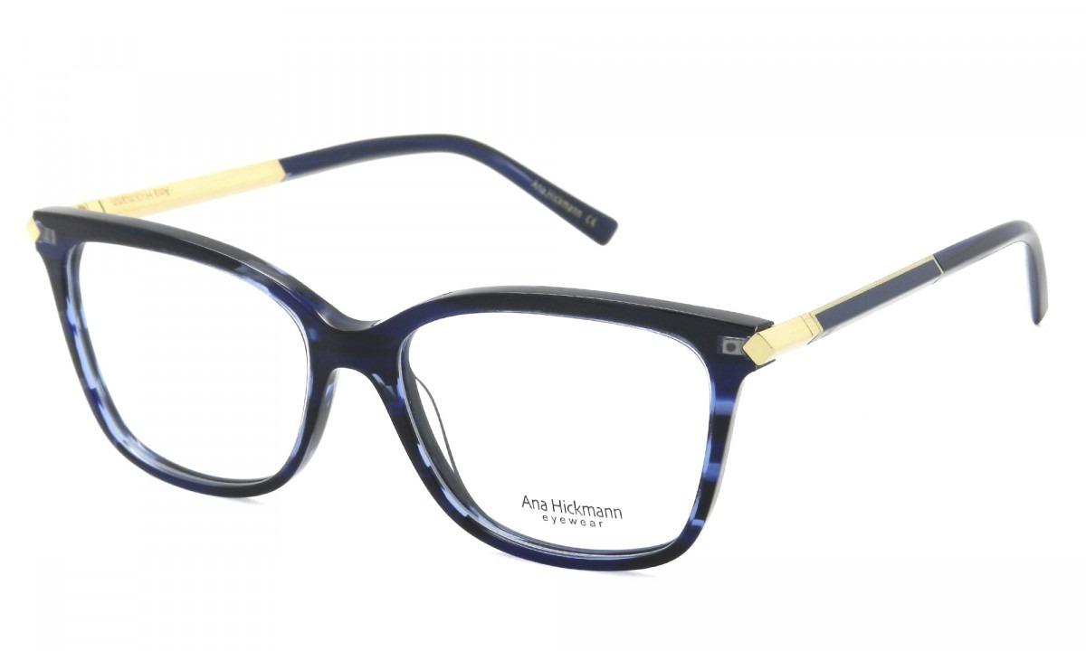 óculos de grau feminino ana hickmann ah6292 azul original. Carregando zoom. 50c909e7c6