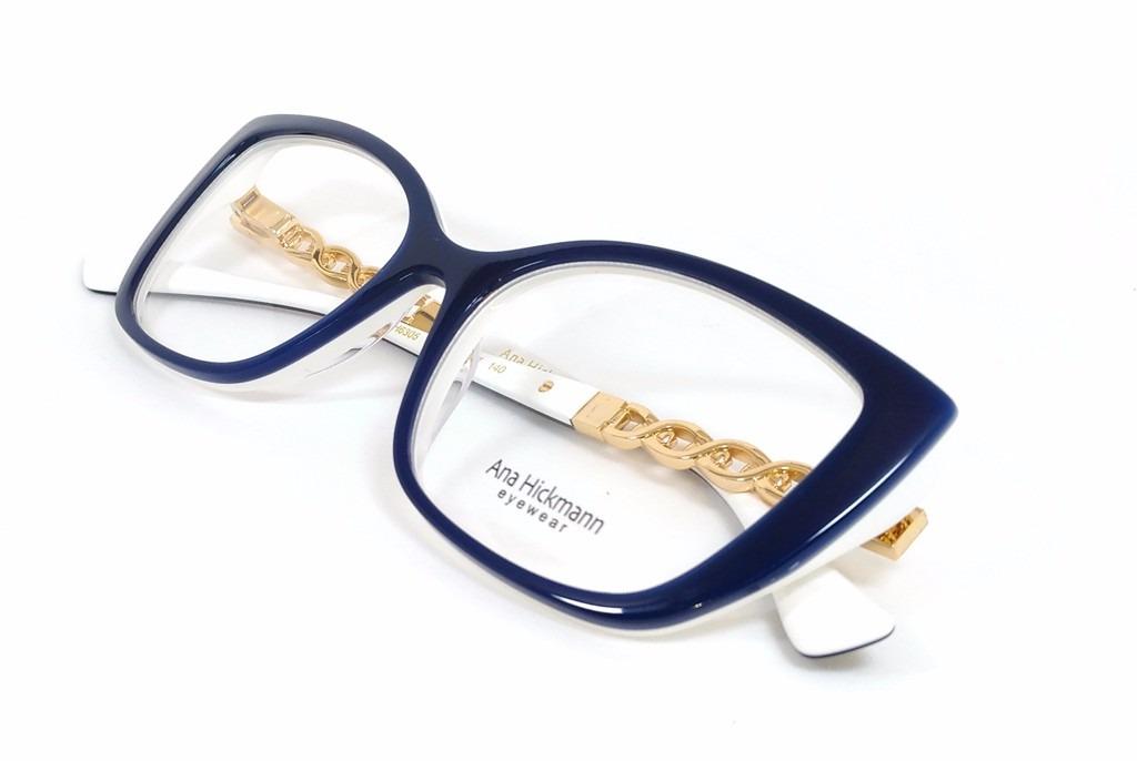 Óculos De Grau Feminino Ana Hickmann Ah6305 - Original - R  400,00 ... 970e8fe64a