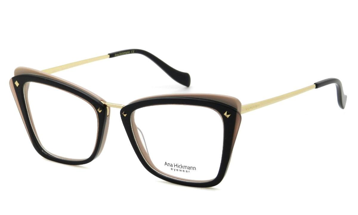 ef5bdb45b52e2 óculos de grau feminino ana hickmann ah6327 h01 - original. Carregando zoom.