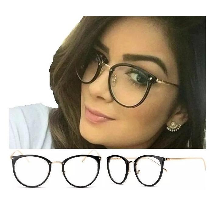 1edbf0c1f Oculos De Grau Feminino Armação Em Acetato Geek Vintage Gato - R  38 ...