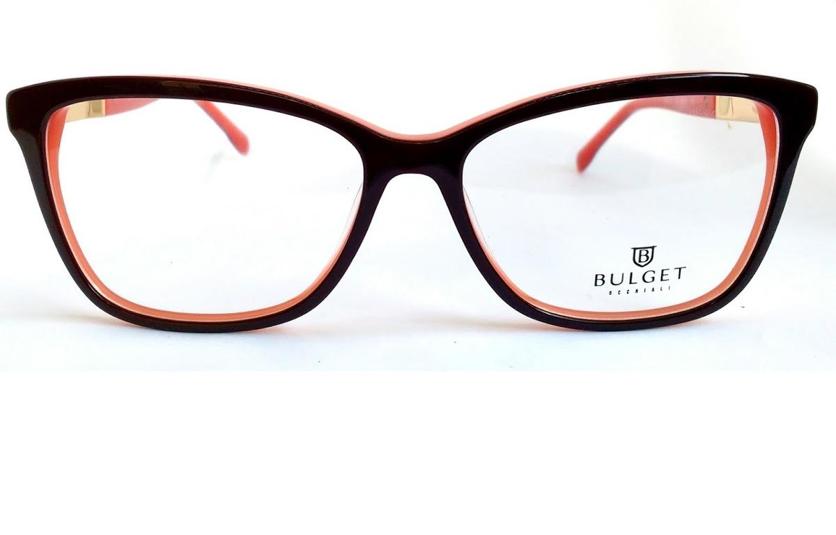 Óculos De Grau Feminino Bulget Bg 6216 H01 Lente 5,5 Cm - R  209,00 ... b4a937a85b