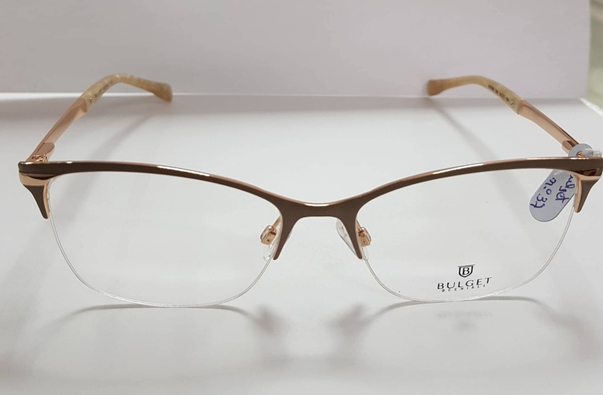 755b9567c3aa6 Óculos De Grau Feminino Bulget Bg1564 08a - 37 - R  189