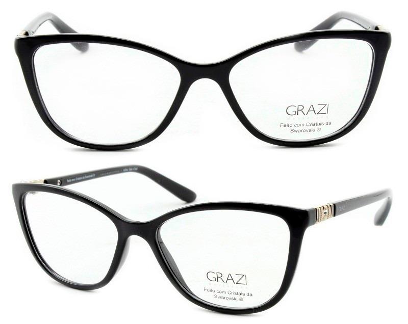 f0b4d8950d3fa Óculos De Grau Feminino Grazi Massafera Gz3029b E411 - R  249,00 em ...