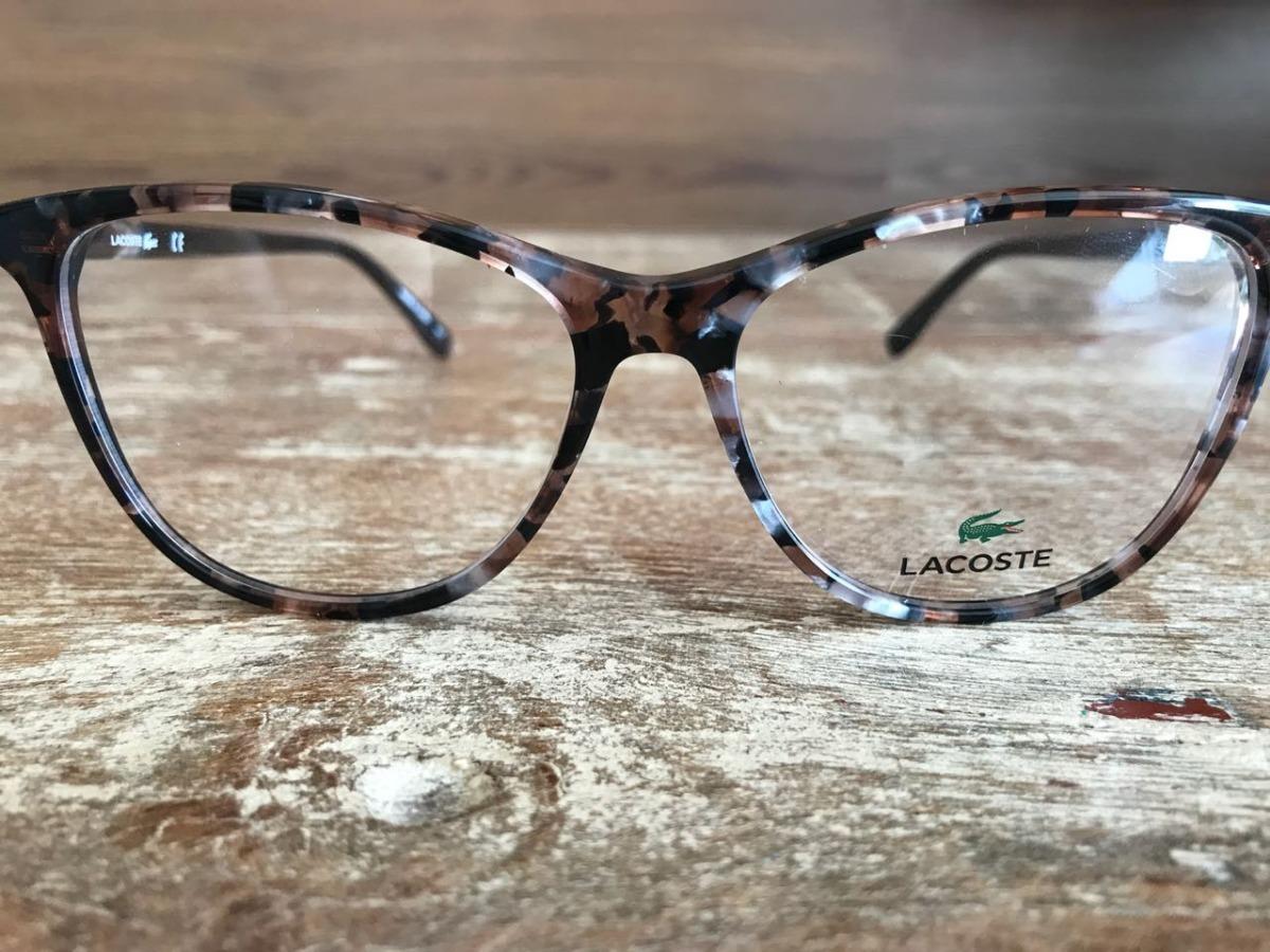 b44c5e2cc7a64 Oculos De Grau Feminino - Lacoste L2822 - R  175,00 em Mercado Livre