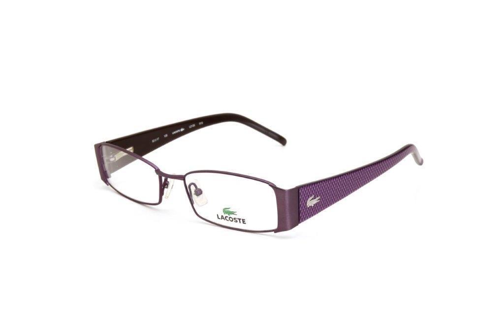 Óculos De Grau Feminino Lacoste Metal Roxo - Cor Roxo - R  287,50 em ... 4e8fa3e5ac
