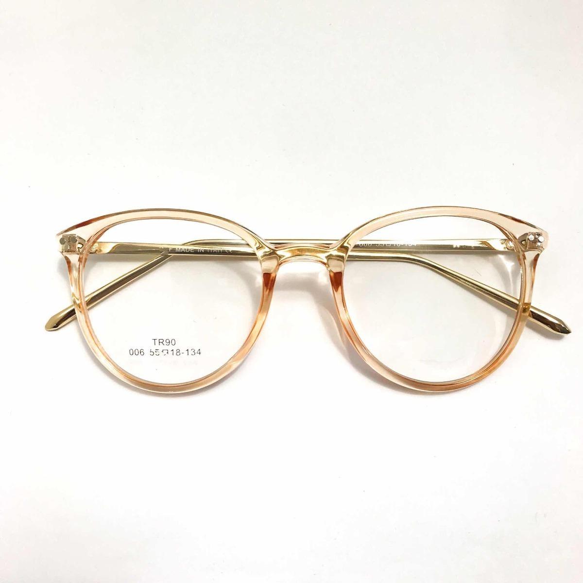 5a88e8e40c813 oculos de grau feminino transparente armação acetato vintage. Carregando  zoom.